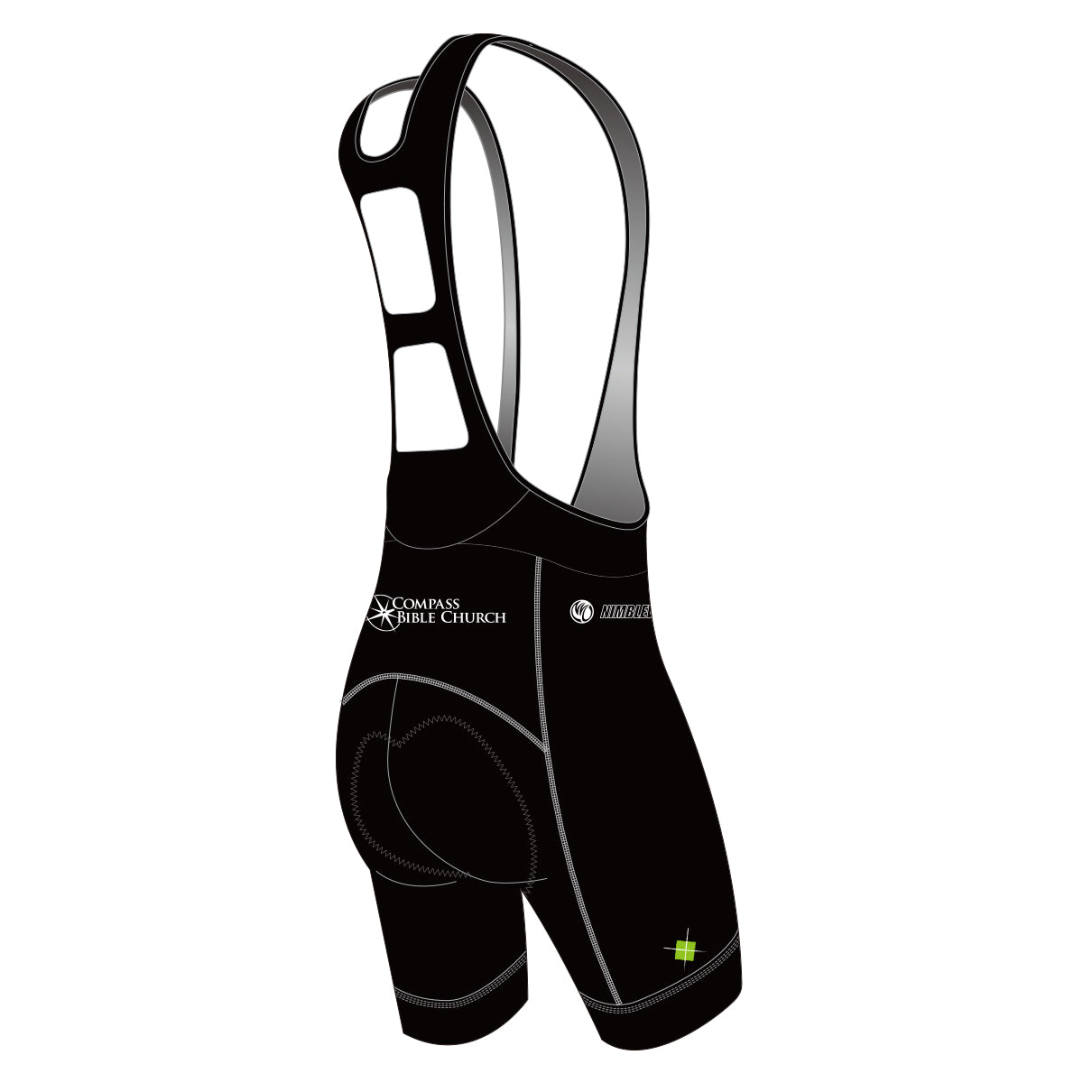 Linked Cycling Cycling Bib Shorts Black