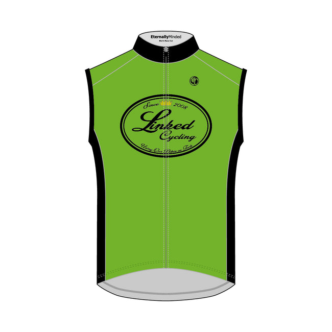 Linked Cycling Cycling Vest Green