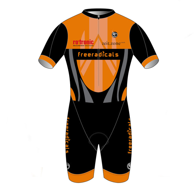 Freeradicals GOLD Short Sleeve Tri Suit