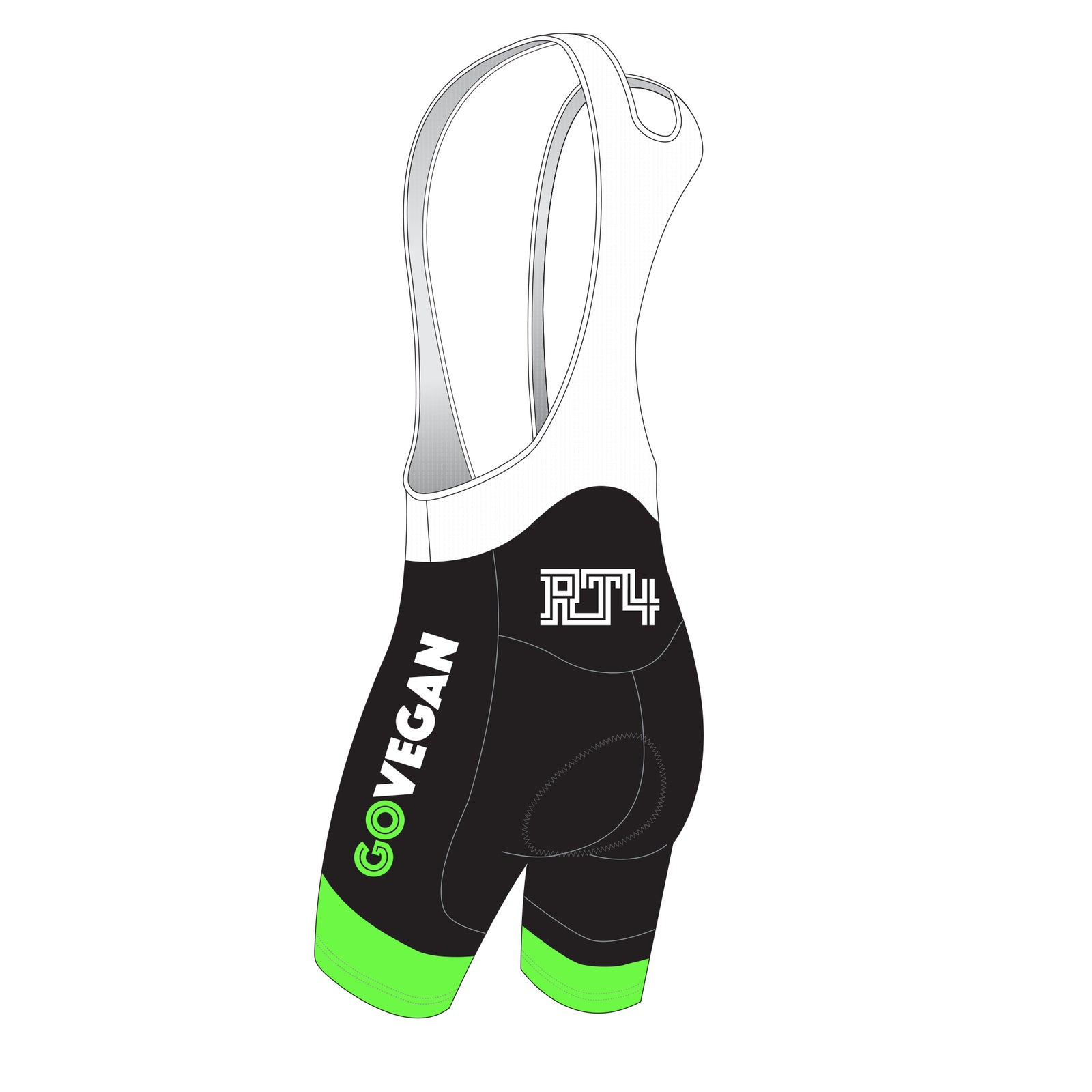 RT4 Men's BRONZE Cycling Bib Shorts