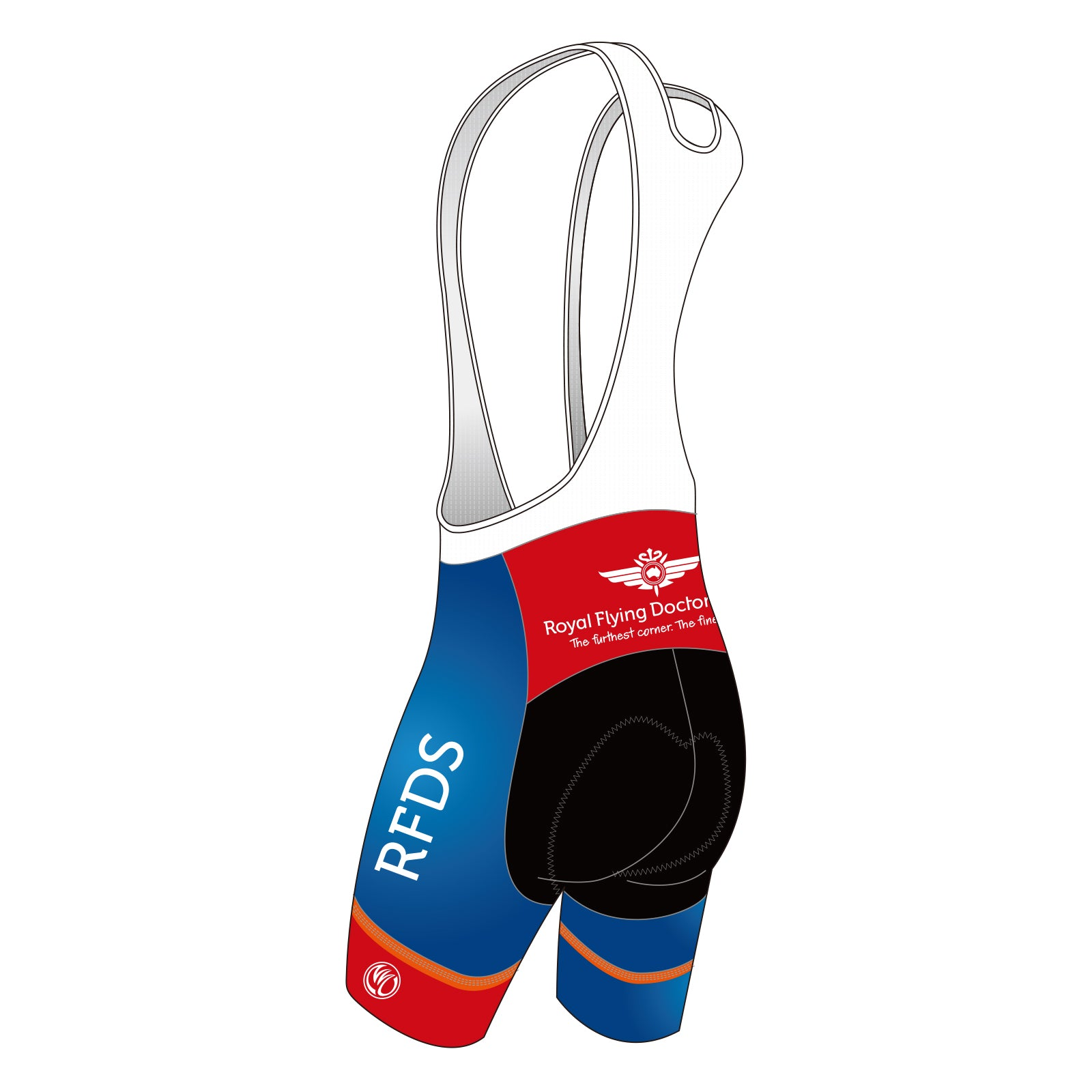 RFDS SILVER Cycling Bib Shorts
