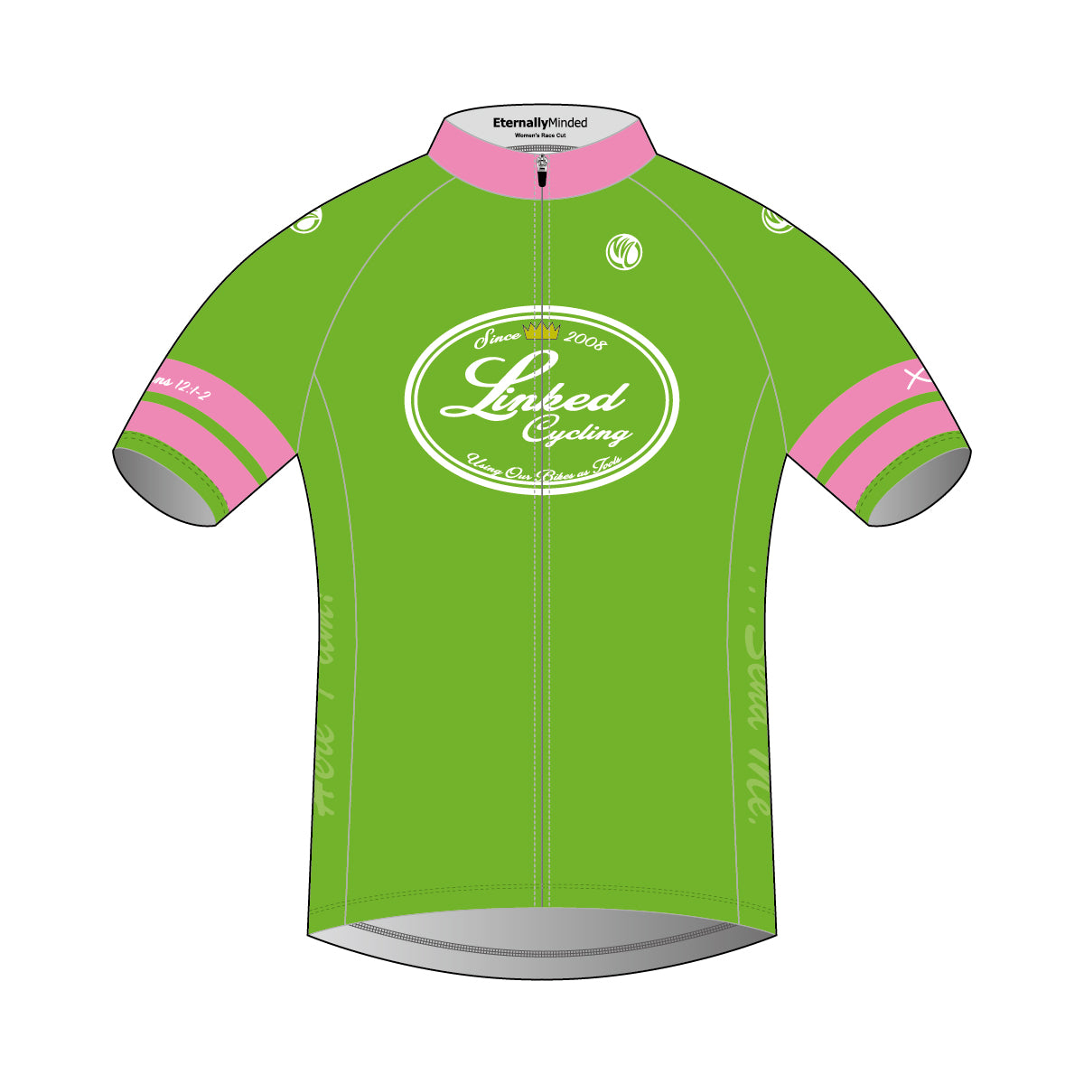 Linked Cycling SS Cycling Jersey Pink