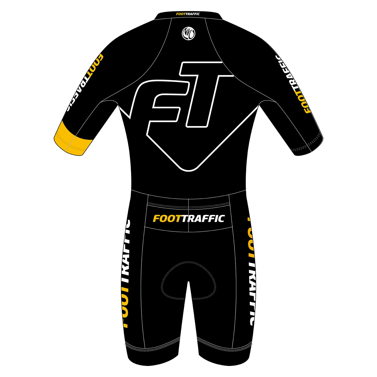 FOOTTRAFFIC Diamond Men's Short Sleeve Tri Suit