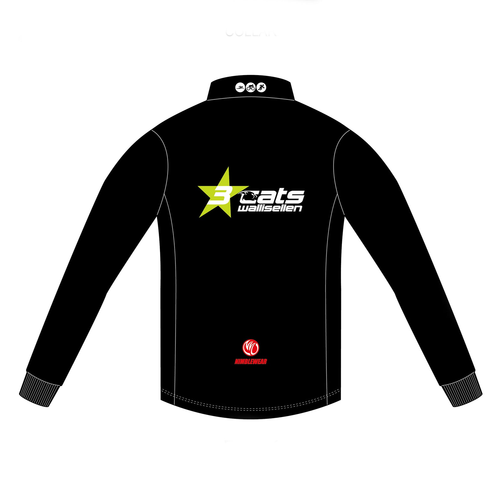 3star cats BLACK GOLD Casual Jacket