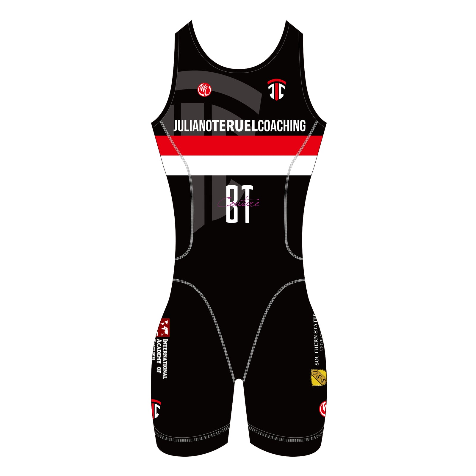 Juliano Teruel WOMEN Gold ITU Tri Suit