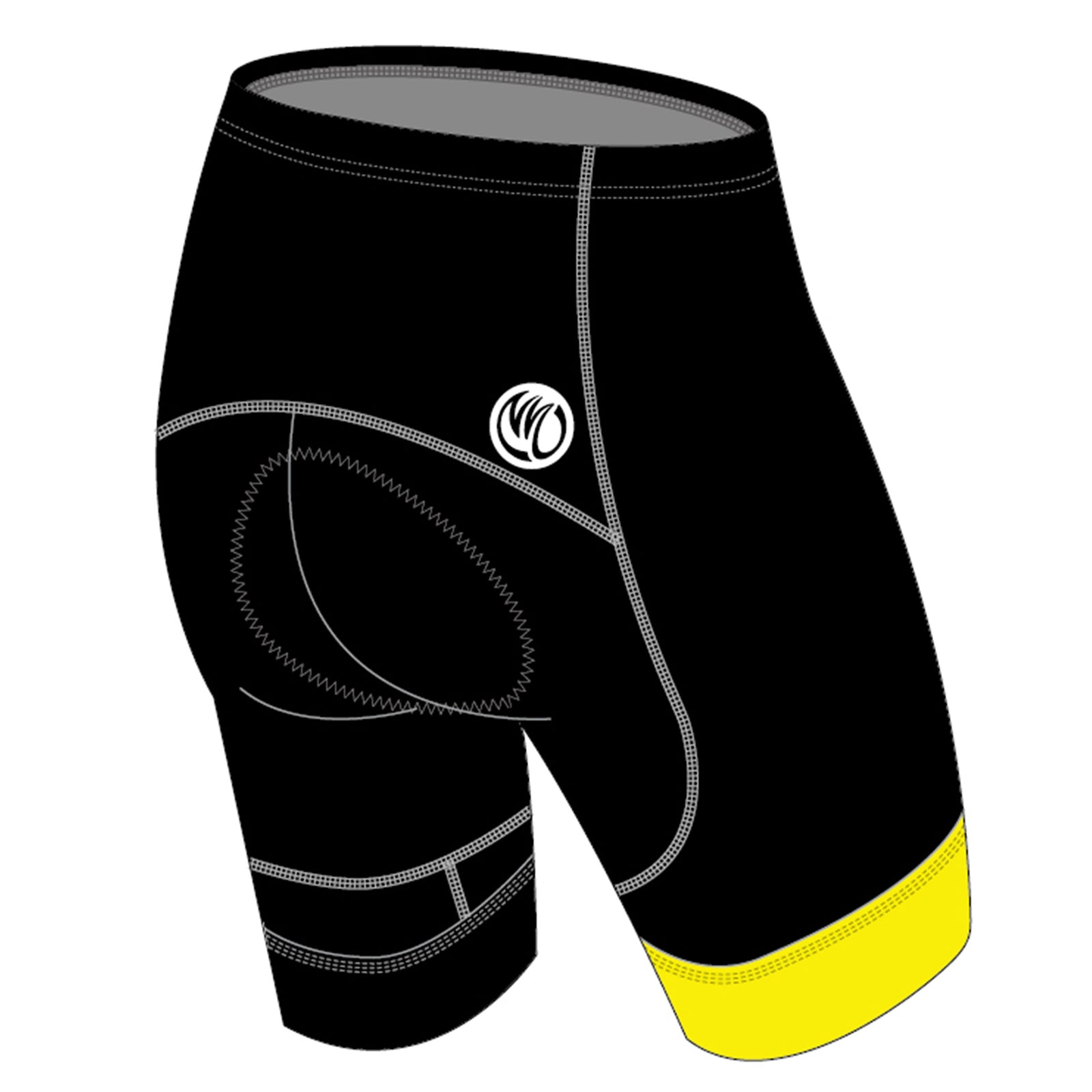 Sergio GOLD Cycling Shorts