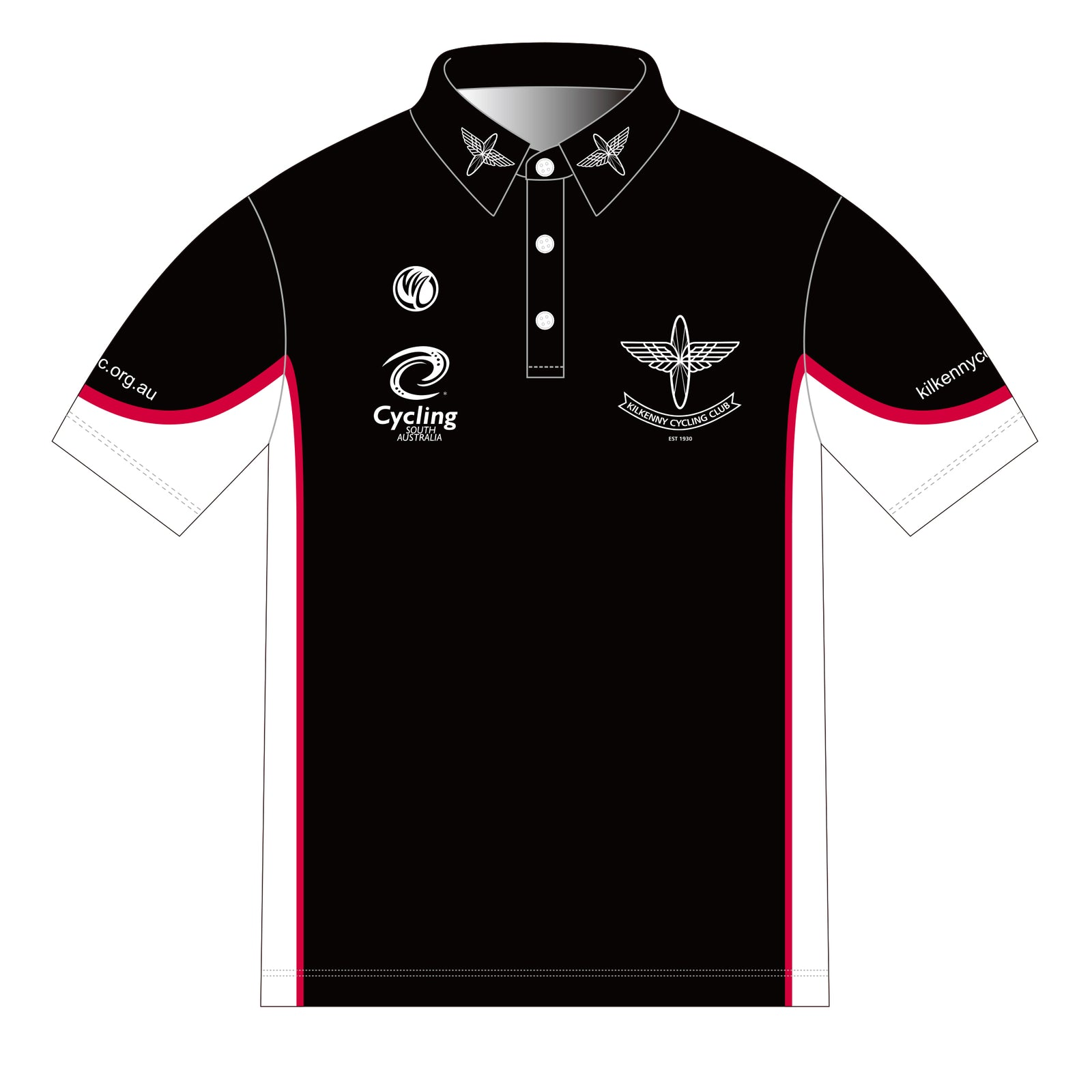 Kilkenny BRONZE RED/BLACK SS Polo