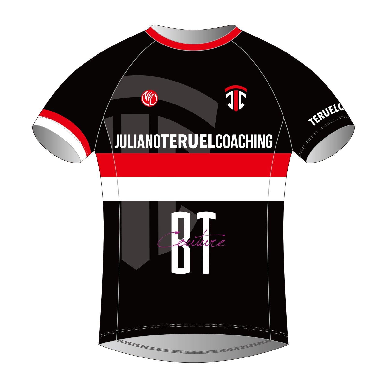 Juliano Teruel Silver Running Shirt