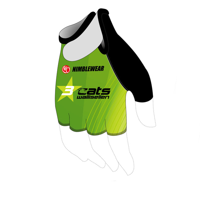 3star cats Cycling Gloves, UNISEX