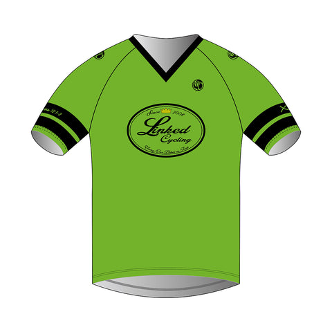 Linked Cycling DH/BMX Jersey  Green