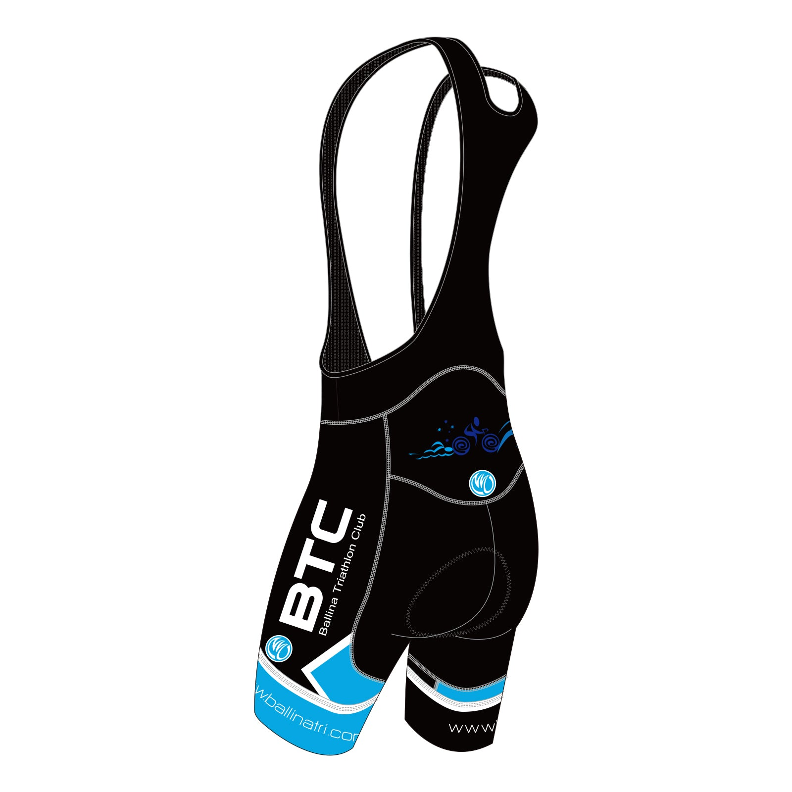 BTC GOLD Cycling Bib Shorts