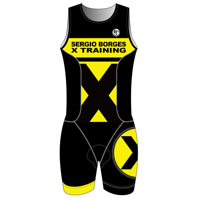 Sergio GOLD MEN ITU Triathlon Suit