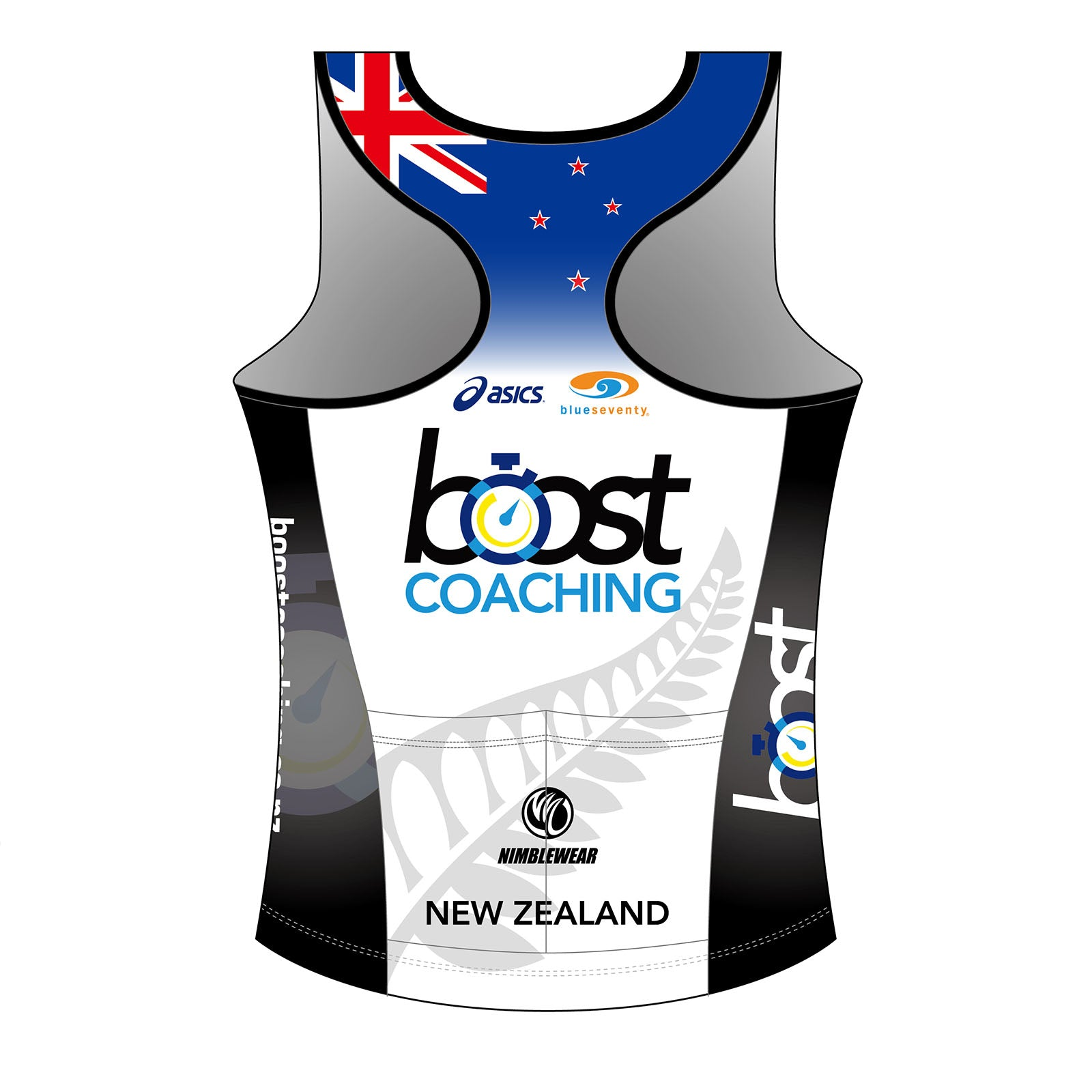 Boost Coaching GOLD Women's Tri Singlet