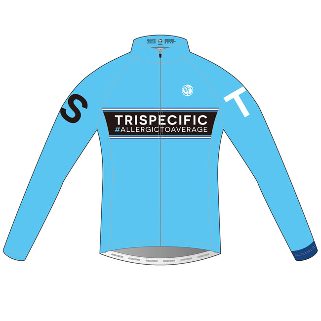 TRISPECIFIC SILVER Cycling Wind Jacket