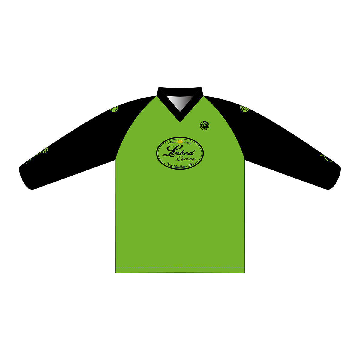 Linked Cycling Enduro Jersey Green