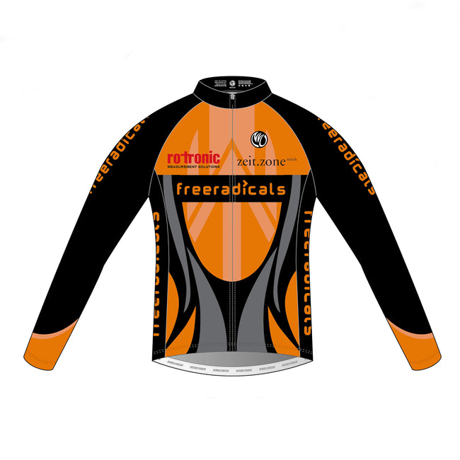 Freeradicals GOLD Thermal LS Cycling Jersey