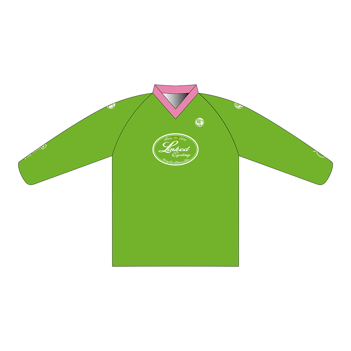 Linked Cycling Enduro Jersey Pink