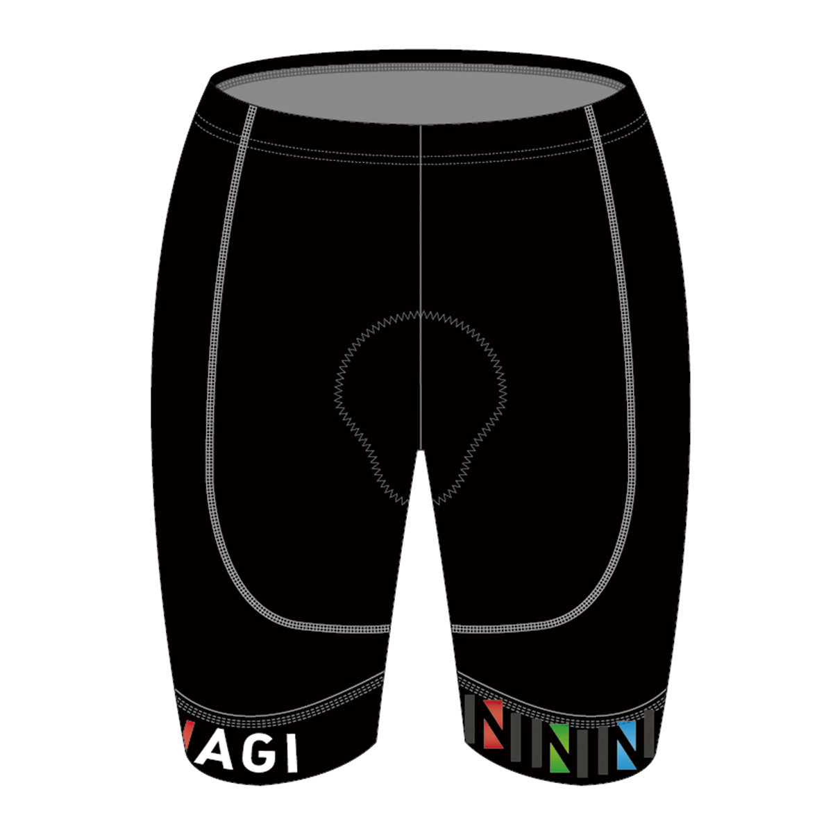 Team Nagi BLACK GOLD Cycling Shorts
