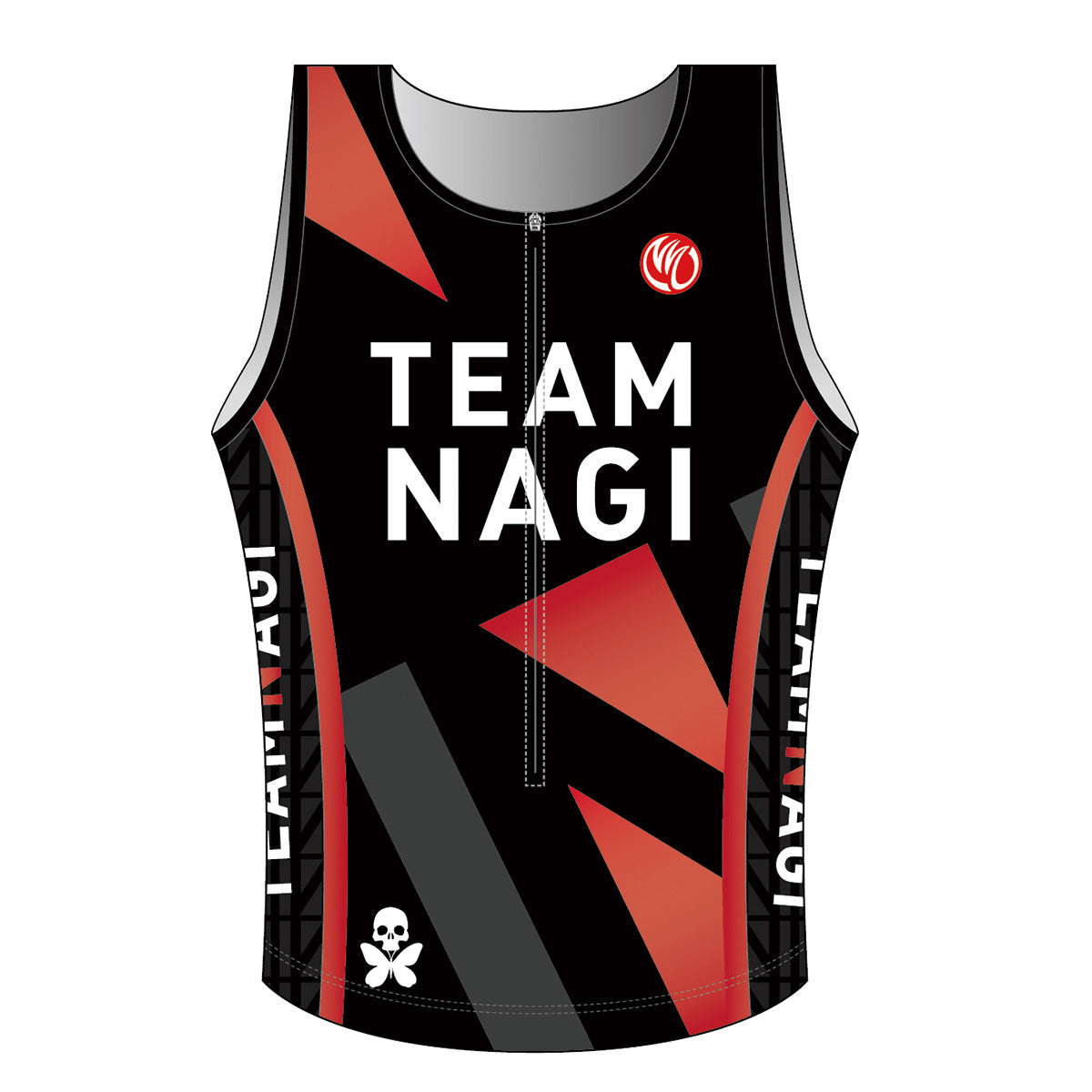 Team Nagi BLACK DIAMOND Men's Tri Singlet