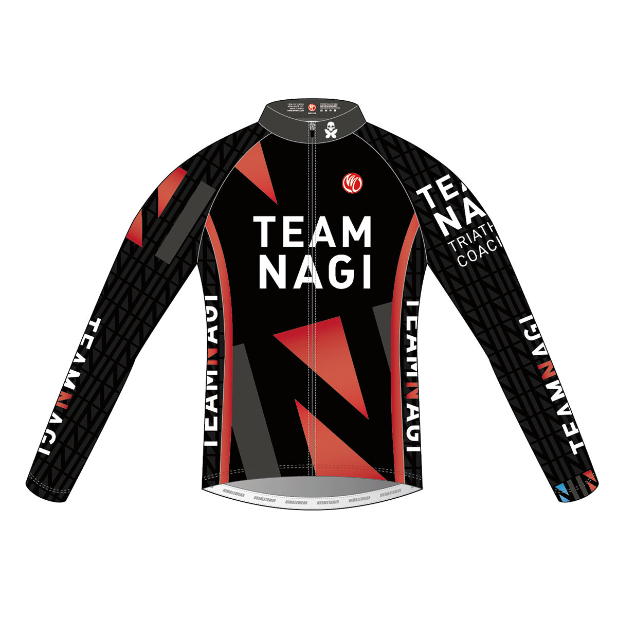 Team Nagi BLACK GOLD LS Cycling Jersey