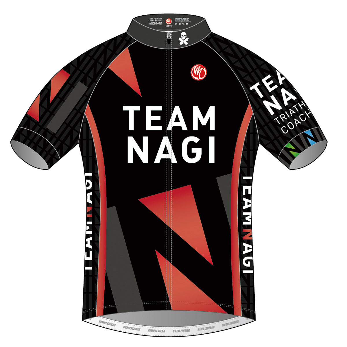 Team Nagi BLACK DIAMOND SS Cycling Jersey