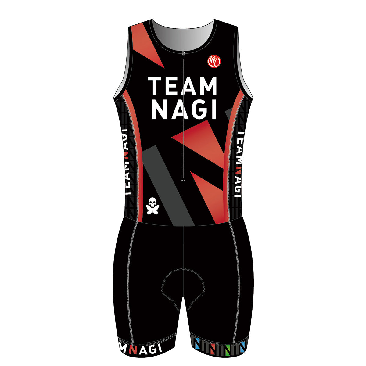 Team Nagi BLACK BRONZE Tri Suit
