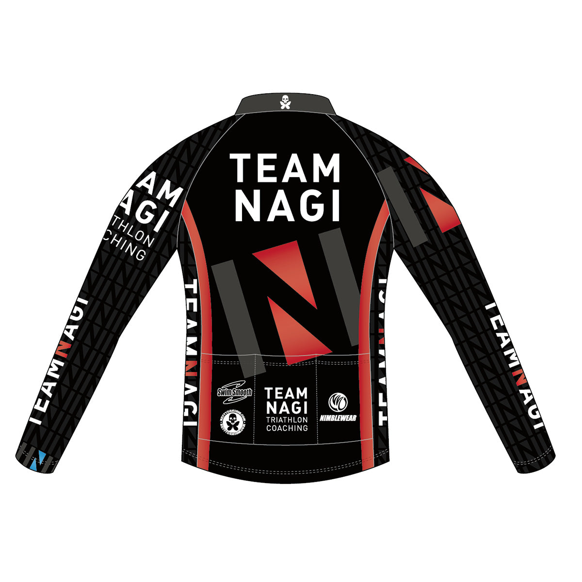 Team Nagi BLACK BRONZE LS Cycling Jersey
