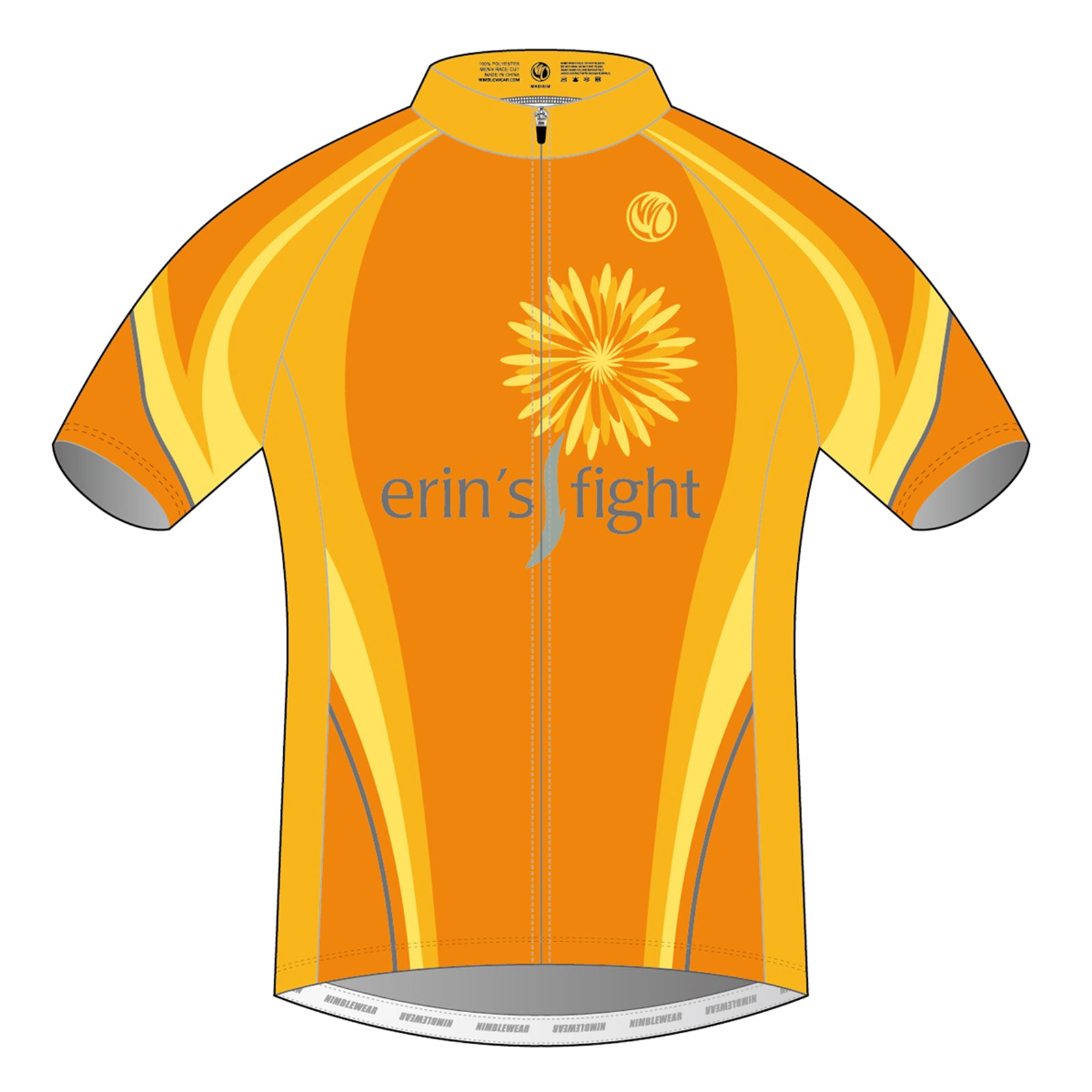 Erin's Fight SUMMER Short Sleeve Cycling Jersey