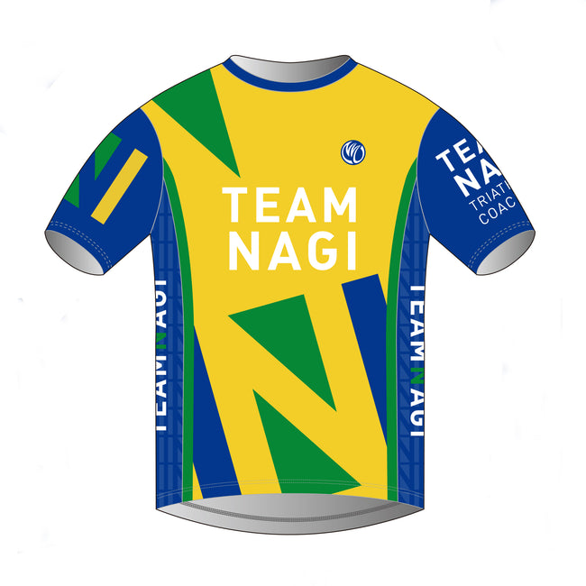 Team Nagi BLUE DESIGN DIAMOND T-Shirt