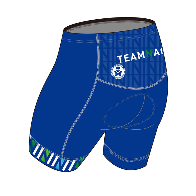 Team Nagi BLUE DESIGN GOLD Tri Shorts