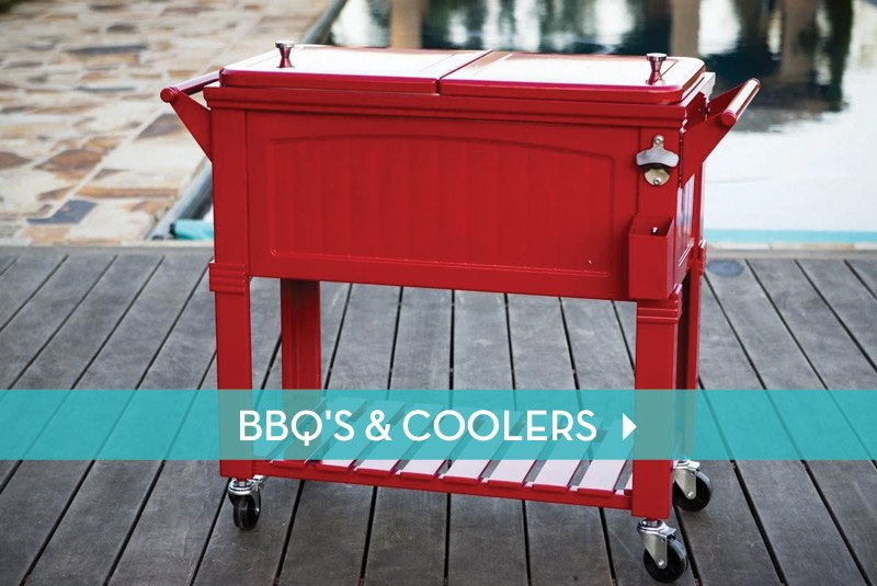 BBQ's & Coolers