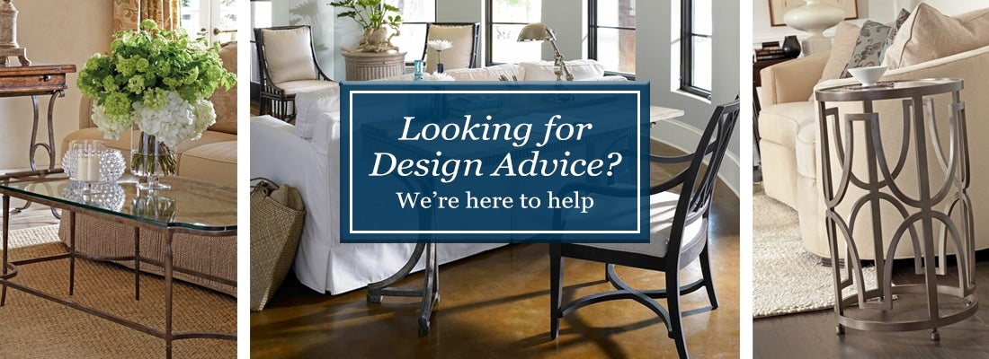 Looking for design advice? We're here to help.