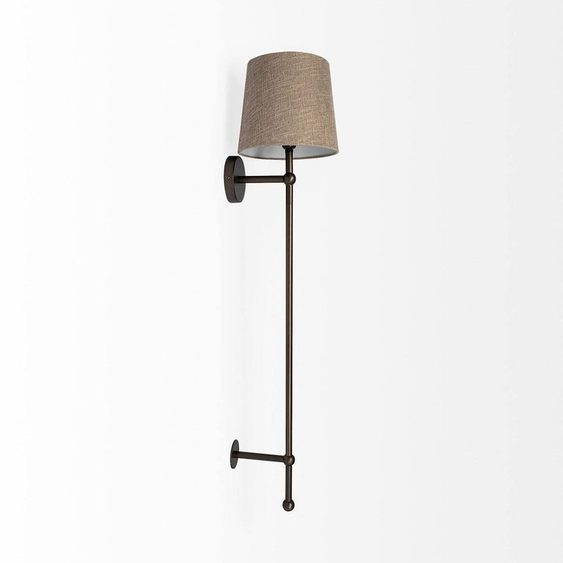 Bechet Wall Sconce - Black