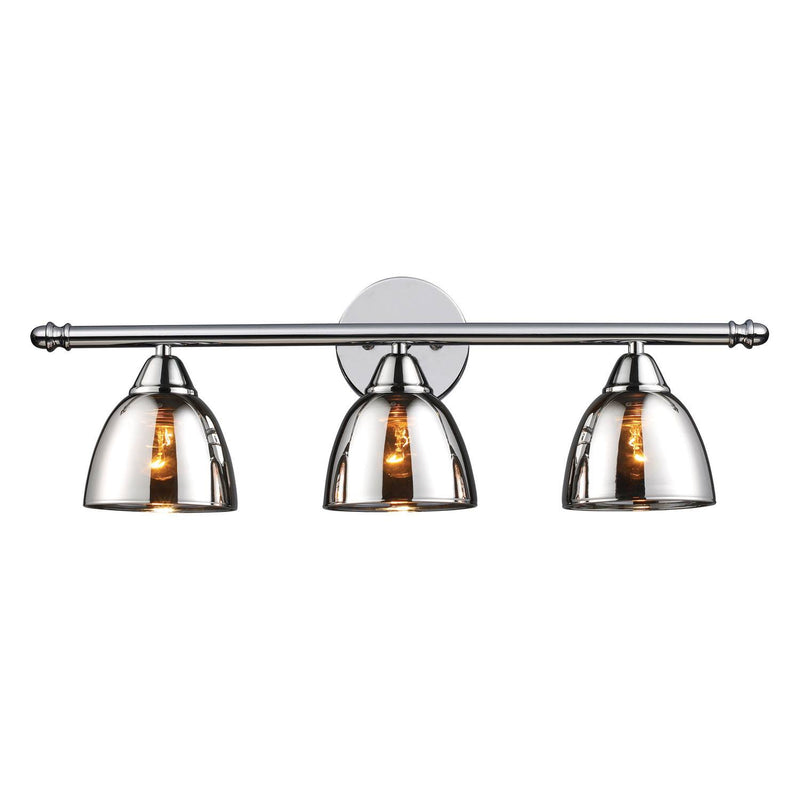 Yvelines 3 Light Vanity Light - Polished Chrome