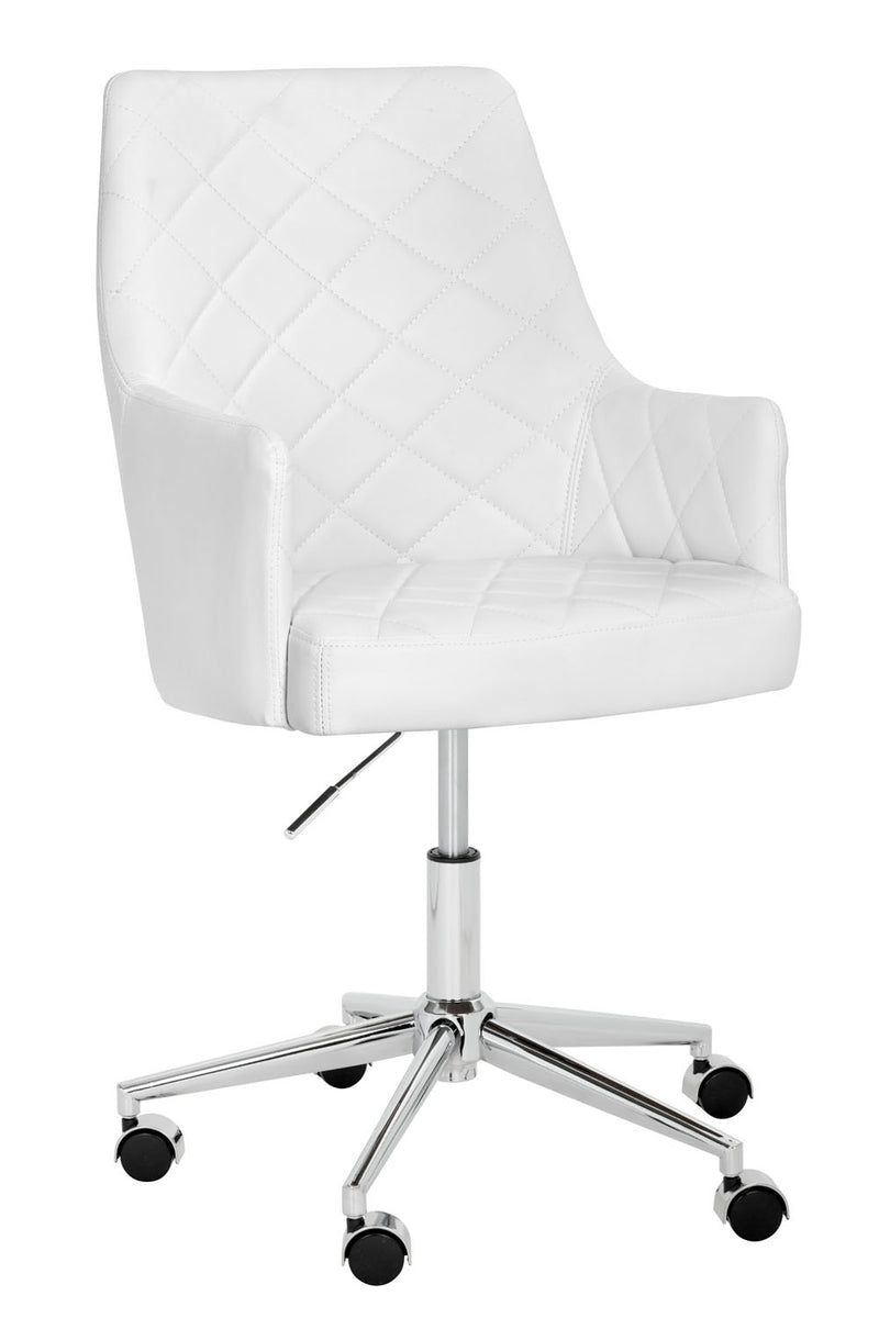 Solomon Office Chair - Snow