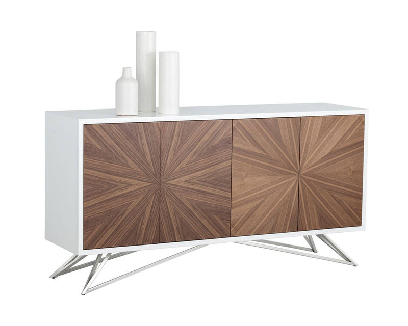 Pardi Sideboard - High Gloss White