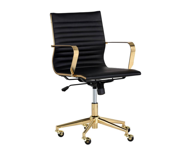 Ceuppens Office Chair - Black