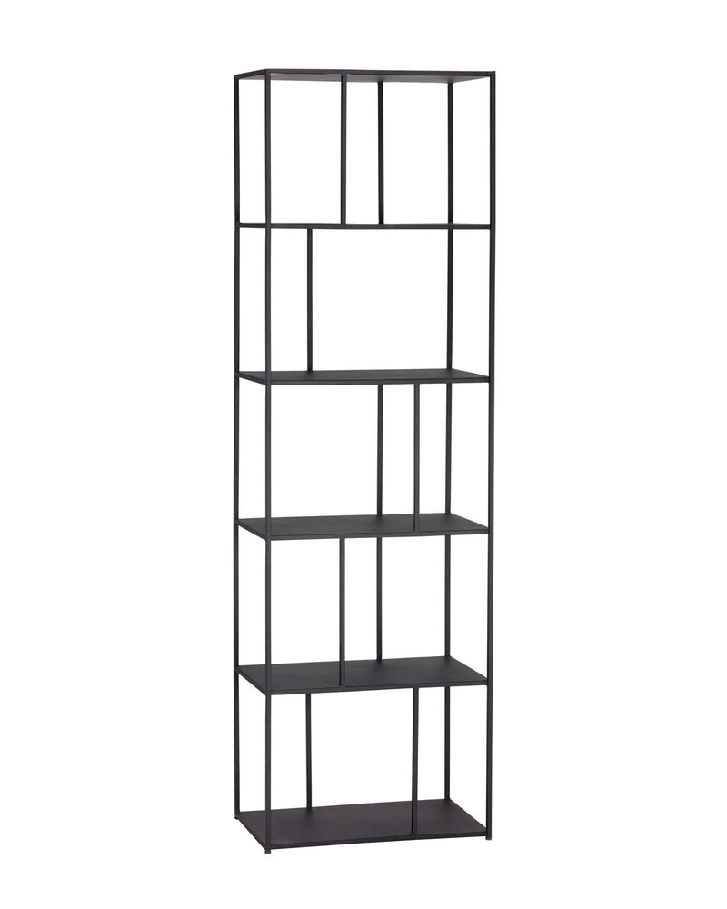 Tournai Small Bookcase - Black