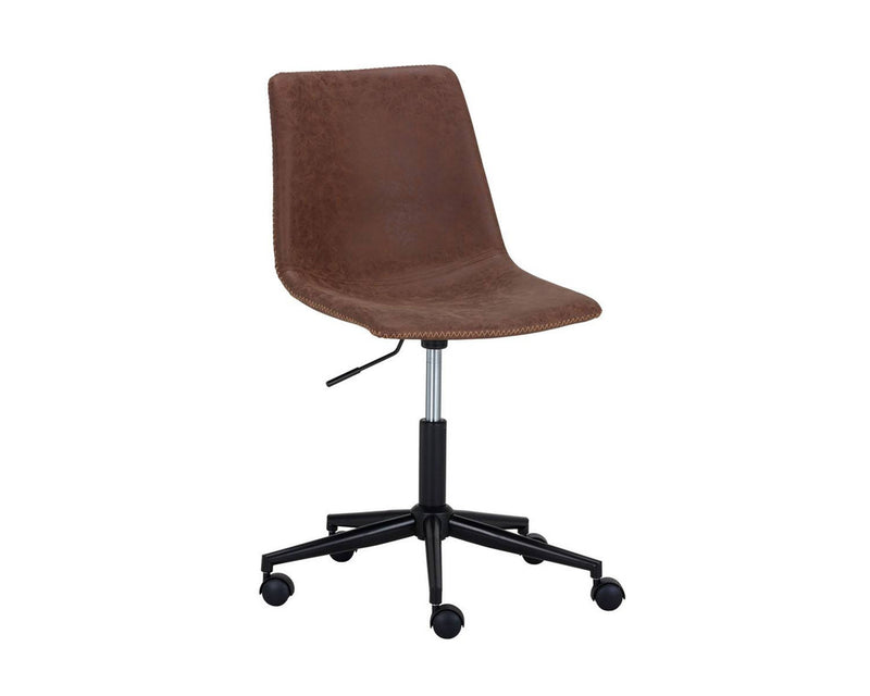David Office Chair - Brown/Black