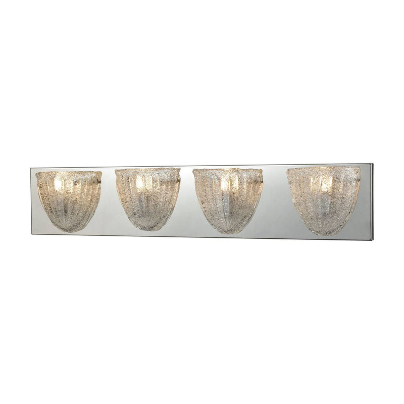 Villeurbanne 4 Light Vanity Light - Polished Chrome