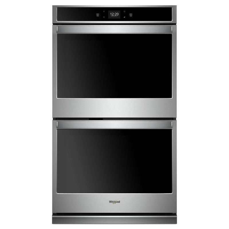 Whirlpool Stainless Steel Smart Electric Double Wall Oven (10.0 Cu.Ft.) - WOD51EC0HS