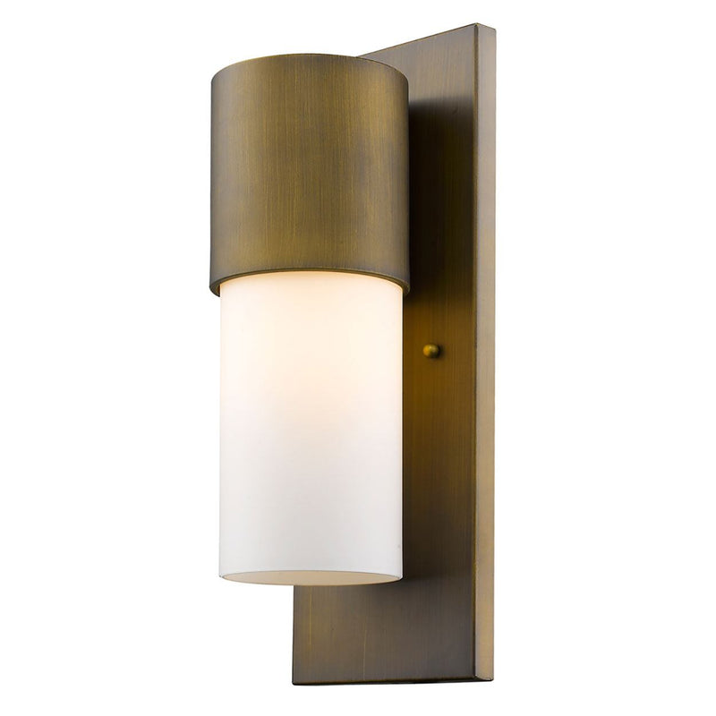 Sotano Outdoor Wall Mount Light - Raw Brass