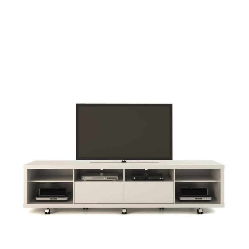 Mabu I TV Stand - White Gloss