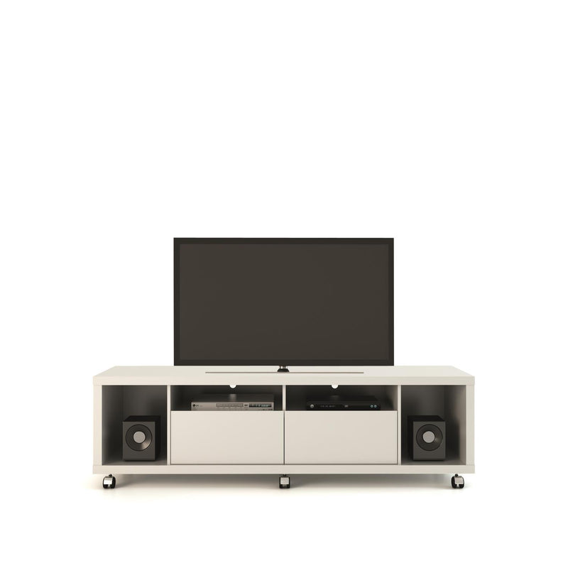Mabu II TV Stand - Gloss White