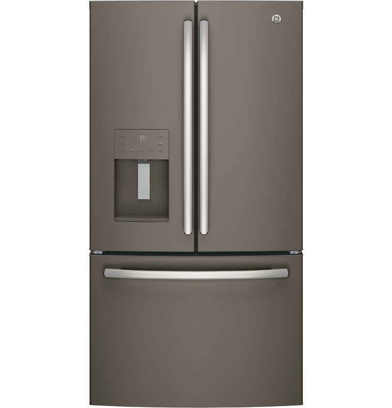 GE Slate French Door Refrigerator (25.6 Cu. Ft.) - GFE26JMMES