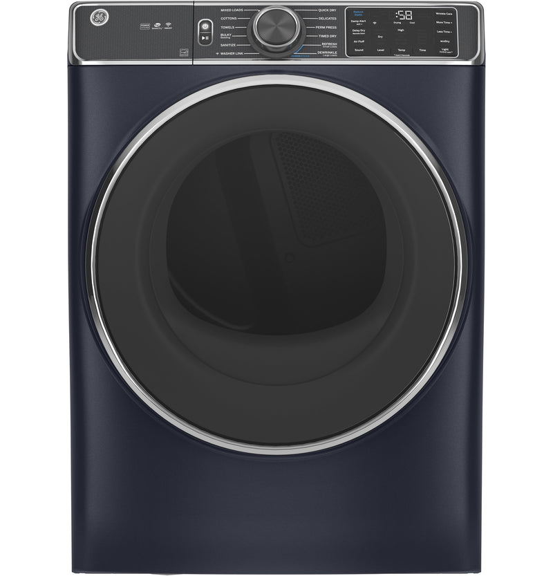 GE Sapphire Blue Electric Front Load Dryer (7.8 Cu. Ft.) - GFD85ESMNRS