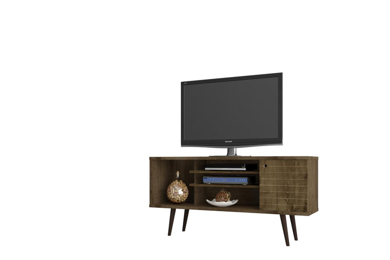 "Lekedi 53"" TV Stand - Rustic Brown"