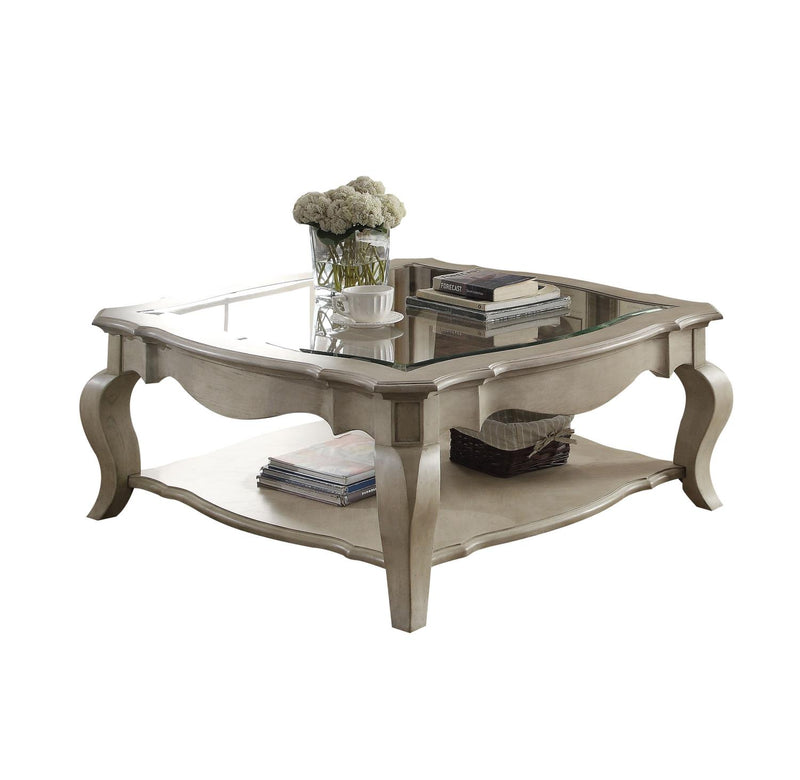Plumage Coffee Table - Antique Taupe