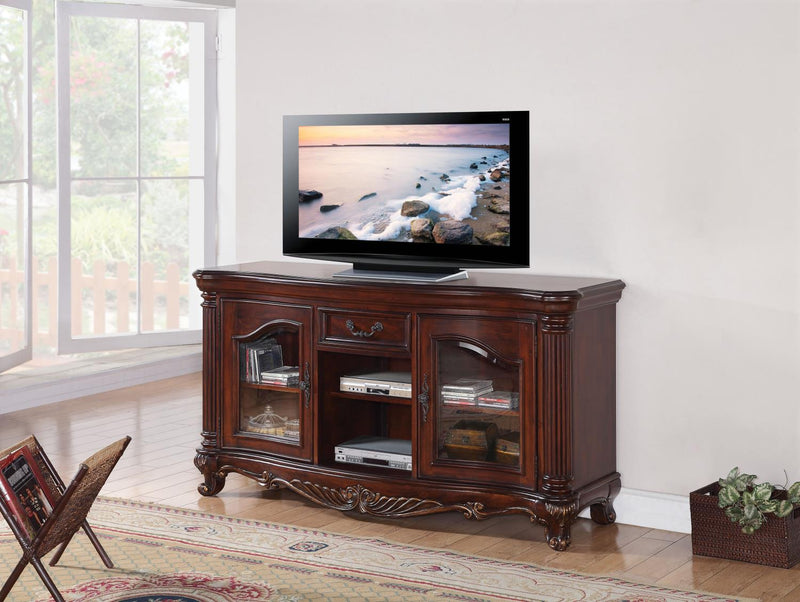 Colt TV Stand - Brown Cherry