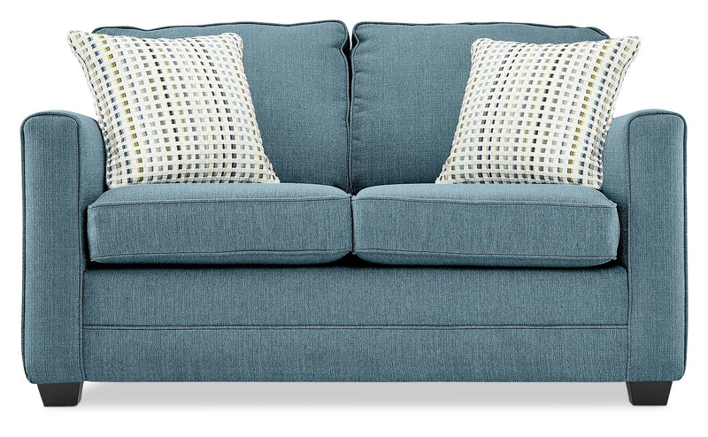 Belton Loveseat - Teal